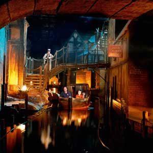 3. Dickens World, England