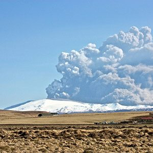 1. Eyjafjallajökull, Iceland