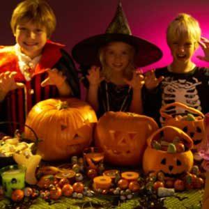 2. Potluck Halloween Dinner Party