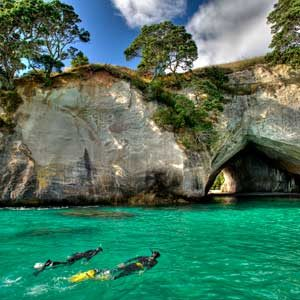 6. Gemstone Bay Snorkel Trail, New Zealand
