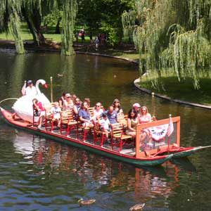 1. Ride the Swan Boats