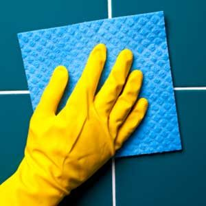 5. Clean off Bathroom Mold