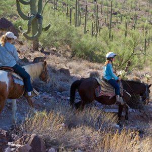 Spring break ideas for family travel: White Stallion Ranch, Tucson, Arizona
