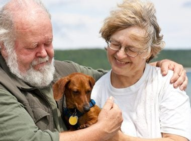 Health benefits of owning a pet: #1: Helping heart attack victims