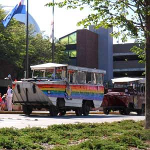 5. Take a Duck Tour
