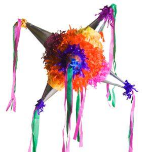 3. Make a Paper Mache Piñata
