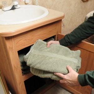 3. Banish Bathroom Moisture and Odours
