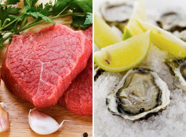 Try: Red Meat and Oysters