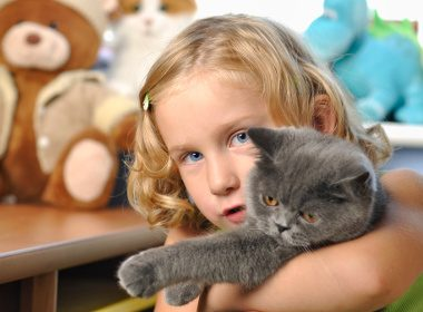 Benefits of owning a pet #4: Pets help teach empathy