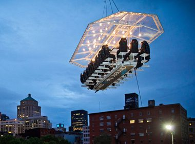 3. Dinner in the Sky - Montreal, Canada