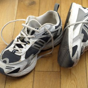 1. Worn-Out Sneakers