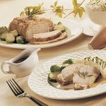 Pork Roast With Garlic and Rosemary