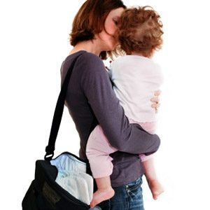 6. Pack a Full Carry-On Diaper Bag