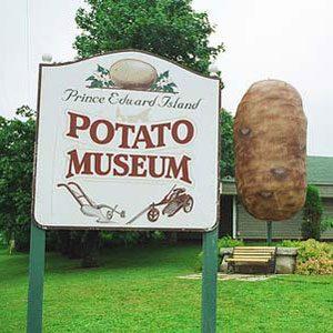 6. Potato Museum, O'Leary, P.E.I.