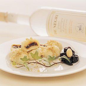 Prune-filled Gnocchi