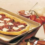 Pizza with Tomato Confit