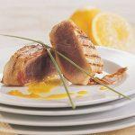 Grilled Tuna in Pancetta