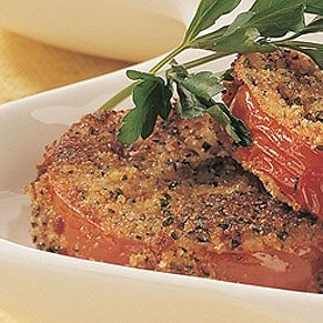 Fried Tomatoes with Parsley
