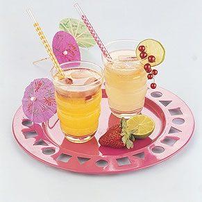 Homemade Lemonade and Orangeade