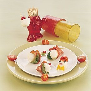 Salami Cones