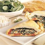 Calzone with Spinach and Ricotta