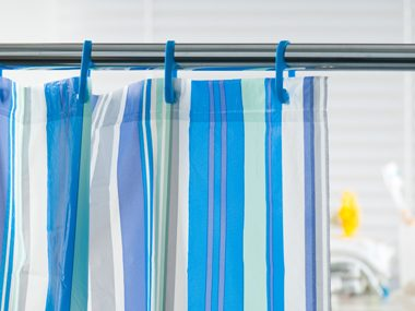 Wash the Shower Curtain Every Month