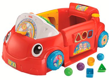 Fisher-Price - Laugh & Learn Crawl Around Car