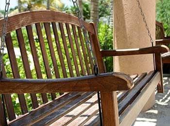 Make a porch swing