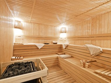 Sit in a Sauna