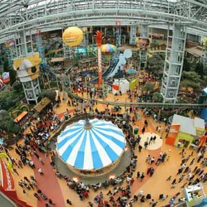 1. Amazing Malls in the World: Mall of America - Bloomington, Minnesota