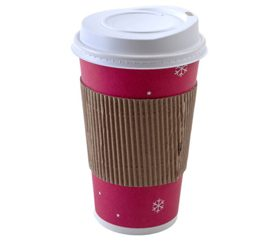 2. A Bigger Cup Doesn't Mean More Coffee