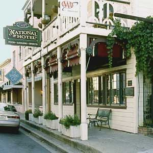 8. Haunted Hotels: 1859 Historic National Hotel, Jamestown, California