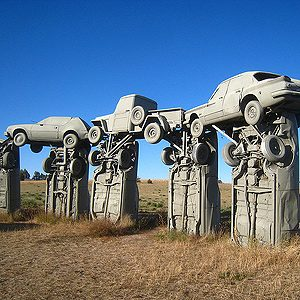 2. Carhenge, Nebraska, U.S.