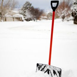 Things to do with shortening: Keep Snow from Sticking to a Shovel