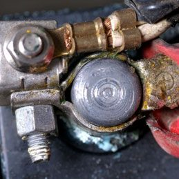 1. Clean Car Battery Terminals