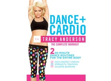 Tracy Anderson: Dance+Cardio DVD