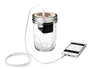 Gifts for Teens: Mason Jar Speaker & Amplifier