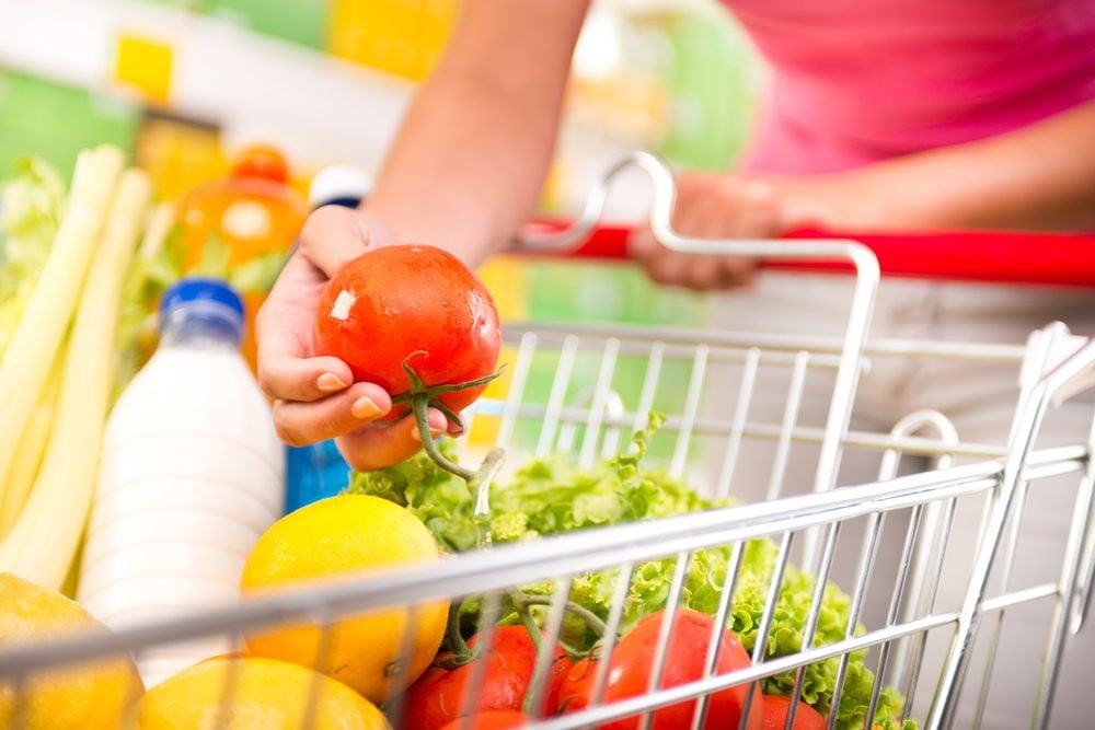 Shop Around The Perimeter Of The Supermarket