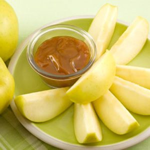 14. Salted Caramel Apple Dip