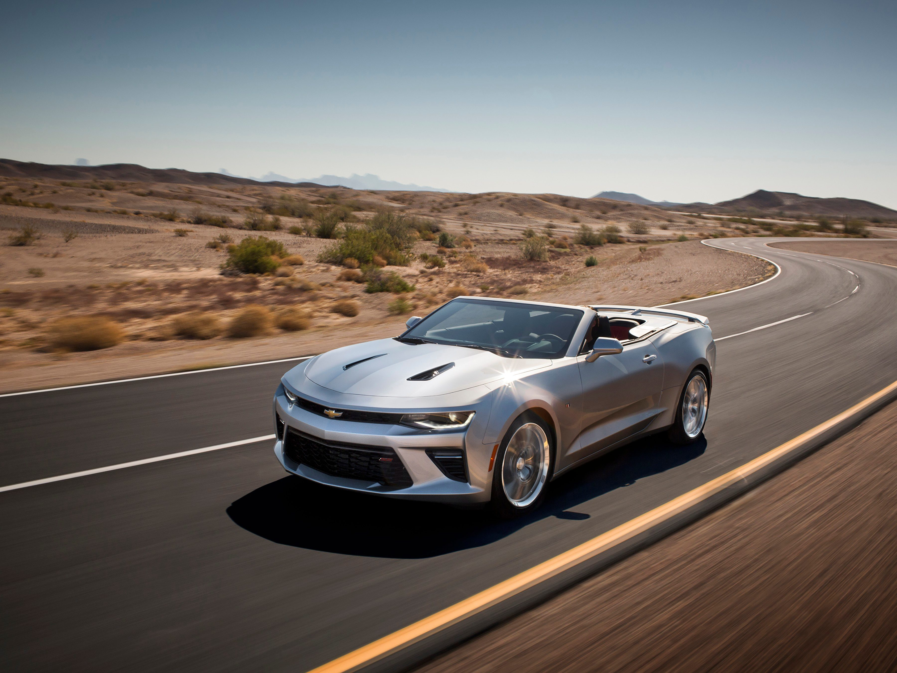 1. The 2016 Chevrolet Camaro convertible offers fully automatic operation.