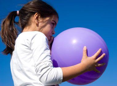 Blow Up A Balloon