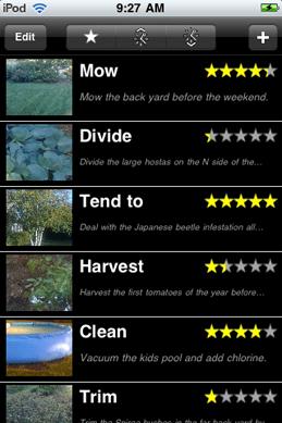 1. Garden ToDo (v1.01) Building Rainbows Software ($1.99)