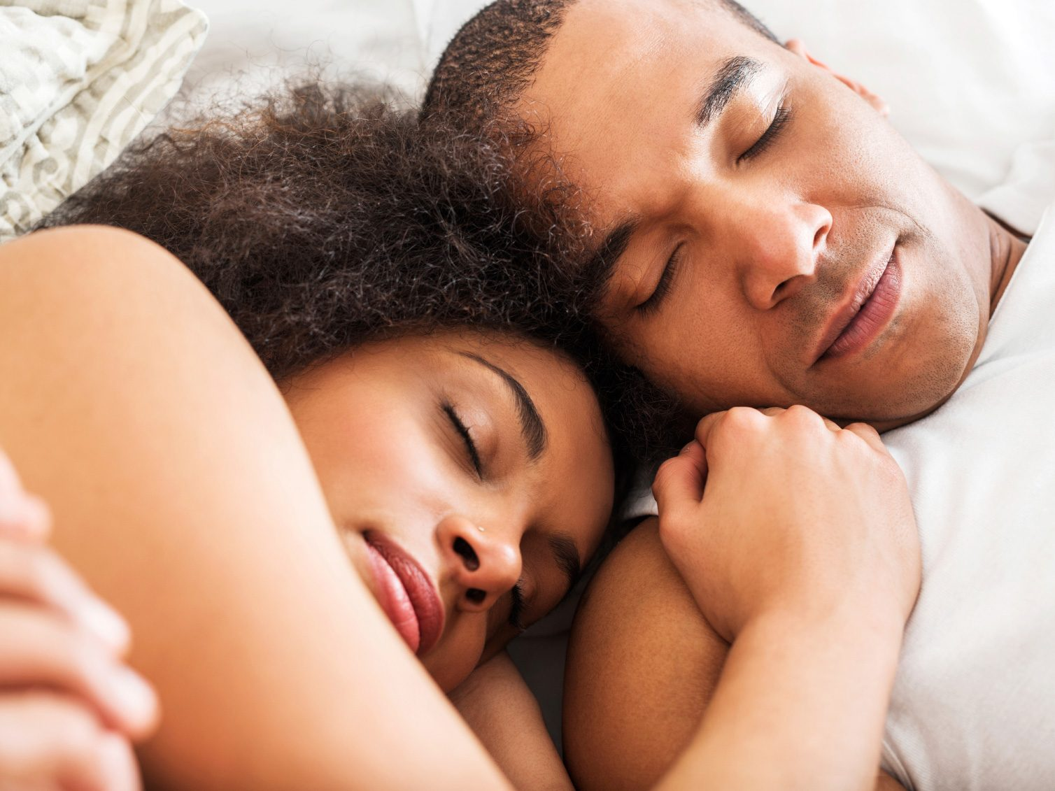 Couples Who Sleep (Really, Really Closely) Together Stay Together