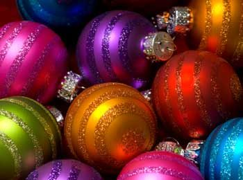 How to Clean Glittered Ornaments