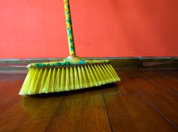 How to Keep Your House Spotless: Dry to Wet