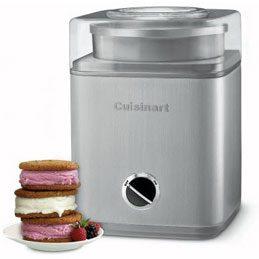 Cuisinart Pure Indulgence Frozen Yogurt-Ice Cream & Sorbet Maker