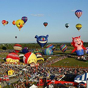 1. Hot Air Balloon Rides