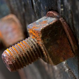 2. Loosen Rusted-On Nuts and Bolts