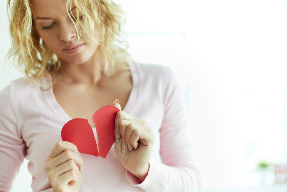 2. You're Nursing a Broken Heart
