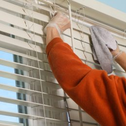 4. Keep Dust Off Blinds